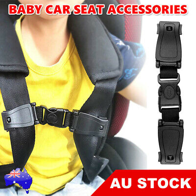 Car Baby Safety Seat Strap Harness Clip Chest Child Toddler Buggy Buckle Lock AU