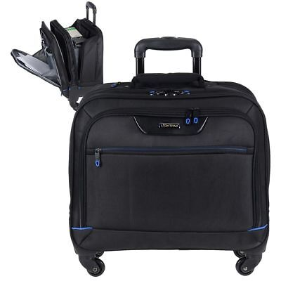 "Valise Trolley Business 4 Rouleaux Malette D'Ordinateur Portable 15.6 "" Pilotes"