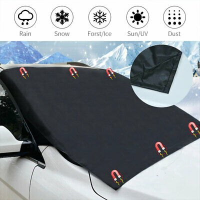 Magnetic Car Windscreen Cover Window Shield Frost Ice Snow Dust Protector Magnet