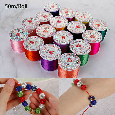 Necklace Jewelry Bracelet Elastic line Beading Cord String Crystal Thread