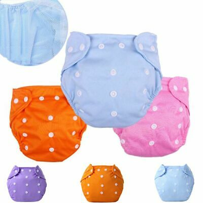 Colorful Reusable Adjustable Washable Cloth Summer Version Nappies Baby Diaper
