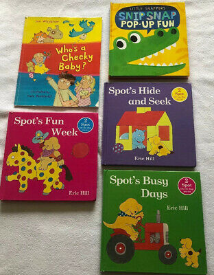 Baby Toddler Books Bundle Pop Up Lift The Flap