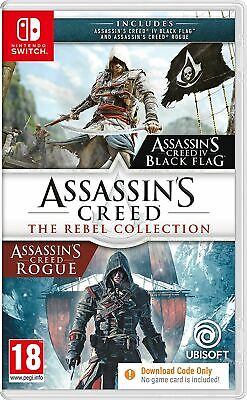 Assassin's Creed: The Rebel Collection (Switch) Free UK P&P New & Sealed