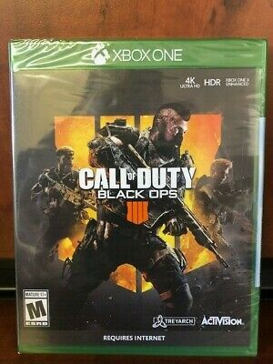 NEW Call of Duty: Black Ops 4 Xbox One- FACTORY SEALED