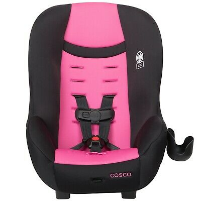 Convertible Car Seat Baby Child Safety Booster Boys Girls Travel Vibrant Orchid