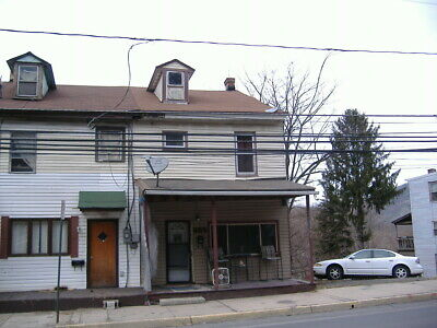 $1 OPEN BID-Foreclosure 3 BR HOUSE-Shamokin PA-NY NJ PA MD CT DE MA