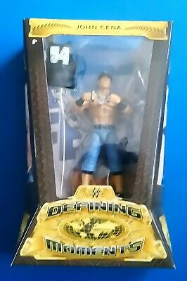 WWE Defining Moments John Cena Elite Mattel Wrestling Figure DMF61