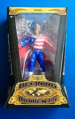 Wwe Mattel Elite Defining Moments Wrestling Figure Sting Wcw Great American Bash