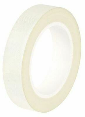 Advance Tapes AT4002 White Electrical Tape 12mm x 55m Glass Cloth 0.18mm +155°C