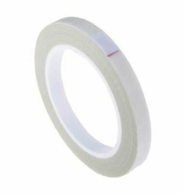 Advance Tapes AT4003 White Electrical Tape 12mm x 33m Glass Cloth 0.18mm +180°C
