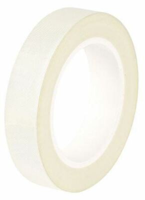 Advance Tapes AT4002 White Electrical Tape 19mm x 55m Glass Cloth 0.18mm Acrylic