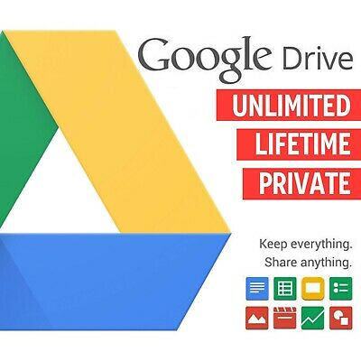 Creat Unlimited Google Drive Lifetime Cloud Storage Account 100% Guaranteed