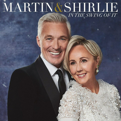 Martin & Shirlie In the Swing of It - New Cd - Released 22/11/2019