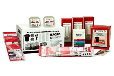 ILFORD PATERSON Film Processing Kit with Chemicals - PTP574