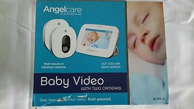 Angelcare AC310-2, Video Baby Monitor, 2 Cameras