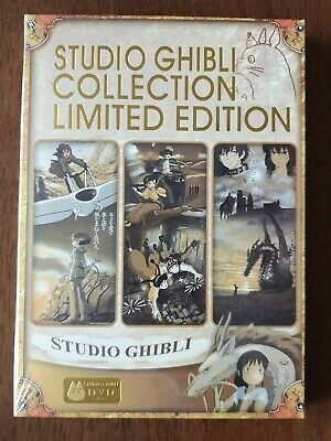 Studio Ghibli Collection Limited Edition 18 Movies on 6 Disks new/sealed