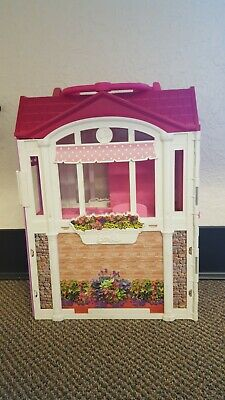 Barbie Glam Getaway House Fold-N-Go Dollhouse Playset Matel 2014