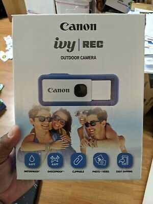 NEW  Canon IVY REC   Outdoor Camera In Riptide Blue