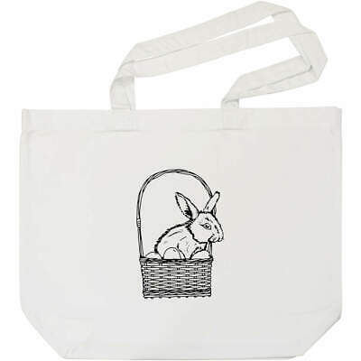 EASTER EGG BUNNY HUNT 100/%COTTON CUTE ANIMALS ECO TOTE SHOPPING BAG 150GSM 5OZ