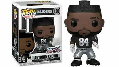 Funko Pop! Football: NFL - Oakland Raiders Wide Receiver Antonio Brown #136 NIB