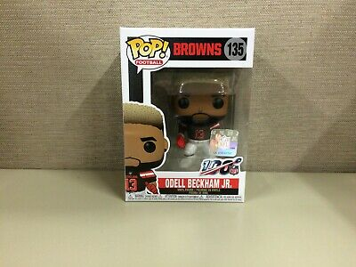 Funko Pop! Football: NFL - Cleveland Browns Wide Receiver Odell Beckham Jr. #135
