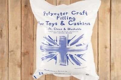 New Polyester Fiber Filling- Soft Toy Stuffing for Teddy Bears,Cushions & Crafts