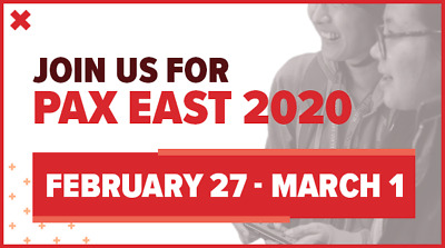 PAX East 2020 SATURDAY SUNDAY PASS