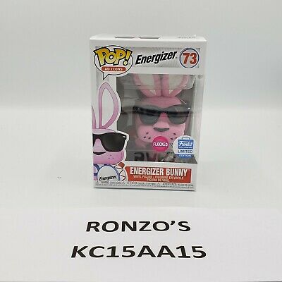 Pop Funko Ad Icons Energizer Bunny Flocked Battery Shop Exclusive
