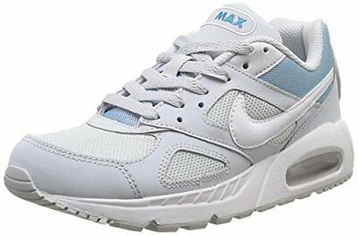 NEW NIKE WOMENS Air Max IVO Leather Silver White Purple Sz