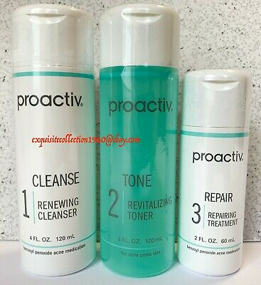Proactiv 2 Month Supply 3 Step Acne Treatment Kit 60 Day Proactive 2021 Expiry 53 95 Picclick