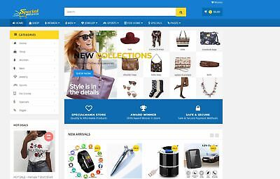 Dropshipping Website General Online Store For Sale - Fully Functional & Running