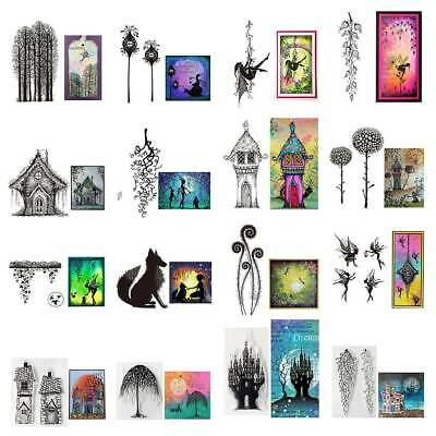 Various Silicone Clear Seal Stamp Scrapbooking Embossing Photo Album Card Decor