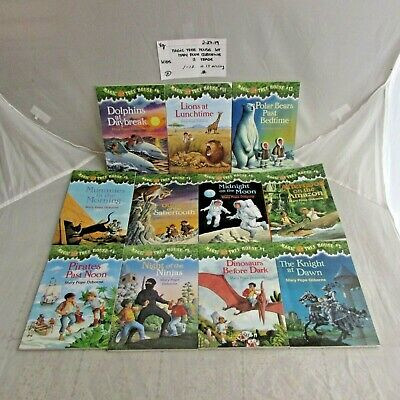 Magic Tree House Lot of 11 Paperbacks / Mary Pope Osbourne / 22719