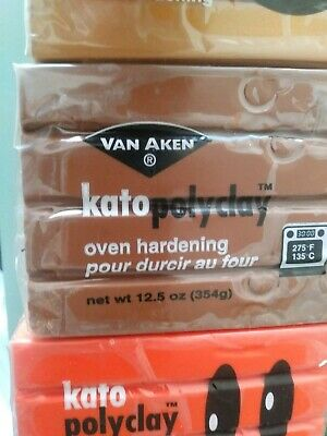 Kato poly clay lot! Great deal! 29 bars!