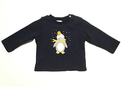 NEW ABSORBA FRENCH DESIGNER baby boys sweater jumper 3-6 months winter top 00