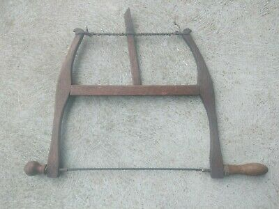 Vintage Bow Saw  Good Condition