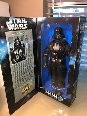 """1996 KENNER Star Wars COLLECTOR SERIES 12"""" DARTH VADER ACTION FIGURE, DOLL NEW"""