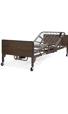Medline Full Electric Hospital Bed With Rails