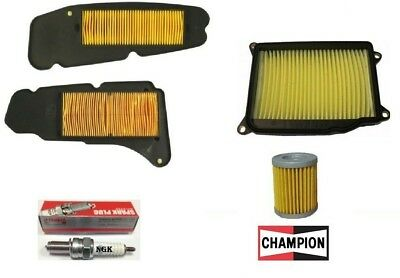 Replacement Filter Kit Air Oil Candle Yamaha Majesty 400 2004 2005 2006