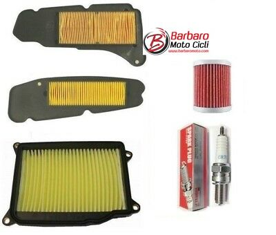 Inspection Set Yamaha Xmax X-Max 400 2014 2015 2016 2017 Filters Air Oil Candle