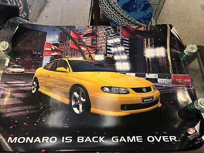 Holden Monaro Is Back Original Large Poster