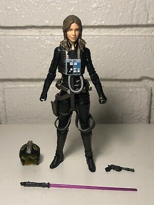 Star Wars The Black Series #56 JAINA SOLO 100% Complete Mint