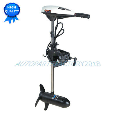 65LBS Thrus Outboard Engine 400MM Short Shaft Electric Boat Trolling Brush Motor