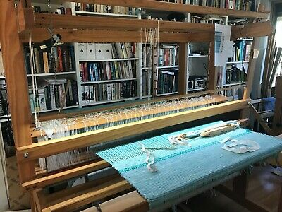 countermarch floor loom, great condition.  approx 1.8m wide x 1.37m x 1.4m high