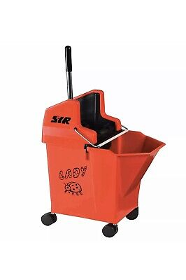SYR Ladybug 15 Litre Kentucky Mop Bucket and Wringer