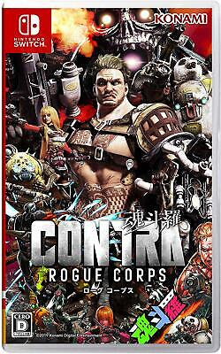 Nintendo Switch Contra Rogue Corps From Japan New
