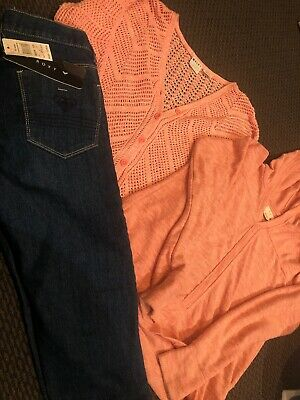 Roxy Jeans And Tops Size 12 Girls