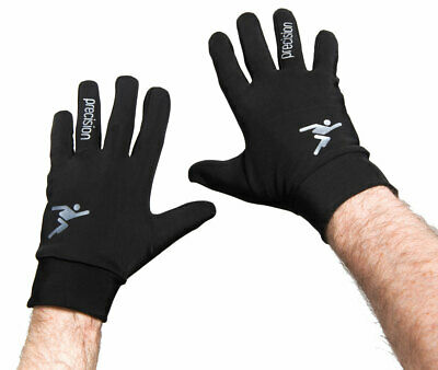 Precision Boys Juniors Football Players Winter Warm Gloves Brushed Inner. Grip