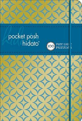 NEW - Pocket Posh Hidato: 100 Pure Logic Puzzles by The Puzzle Society