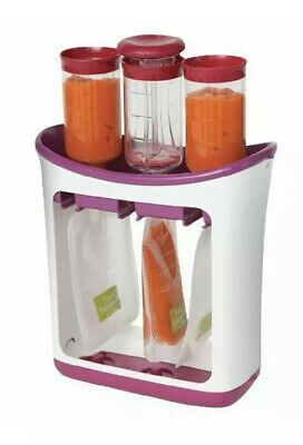 Infantino Fresh Squeezed Feeding Line Squeeze Station Home Cooked Food to Pouch